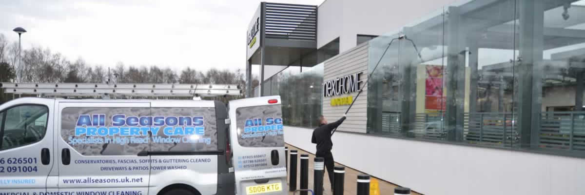 retail park window cleaning Manchester